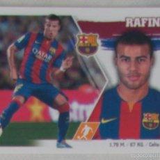 Cromos de Fútbol: LIGA ESTE 2015 - 2016. 16 RAFINHA (FCB BARCELONA). Lote 57082863
