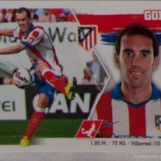 Cromos de Fútbol: LIGA ESTE 2015 - 2016. 9 GODIN (ATLÉTICO DE MADRID). Lote 57083059