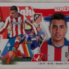 Cromos de Fútbol: LIGA ESTE 2015 - 2016. 7 GIMÉNEZ (ATLÉTICO DE MADRID). Lote 57083156