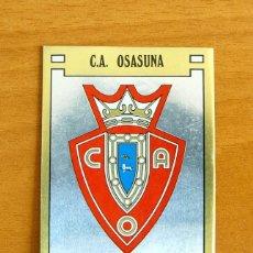 Cromos de Futebol: OSASUNA - 217 ESCUDO - FÚTBOL 89 PANINI 1988-1989, 88-89 - NUNCA PEGADO. Lote 57089999