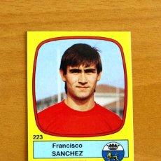 Cromos de Futebol: OSASUNA - 223 SÁNCHEZ - FÚTBOL 89 PANINI 1988-1989, 88-89 - NUNCA PEGADO. Lote 57090135