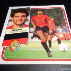 Cromos de Fútbol: MERINO OSASUNA CROMOS ALBUM EDICIONES ESTE LIGA FUTBOL 1989 1990 89 90. Lote 57254475