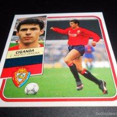 Cromos de Fútbol: CIGANDA OSASUNA CROMOS ALBUM EDICIONES ESTE LIGA FUTBOL 1989 1990 89 90. Lote 57255778