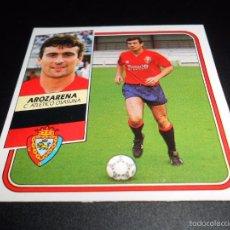 Cromos de Fútbol: AROZARENA OSASUNA CROMOS ALBUM EDICIONES ESTE LIGA FUTBOL 1989 1990 89 90. Lote 57255802