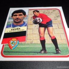 Cromos de Fútbol: VICUÑA OSASUNA CROMOS ALBUM EDICIONES ESTE LIGA FUTBOL 1989 1990 89 90. Lote 57255841