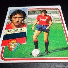 Cromos de Fútbol: CASTAÑEDA OSASUNA CROMOS ALBUM EDICIONES ESTE LIGA FUTBOL 1989 1990 89 90. Lote 57256037