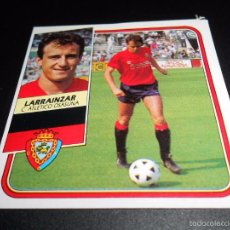 Cromos de Fútbol: LARRAINZAR OSASUNA CROMOS ALBUM EDICIONES ESTE LIGA FUTBOL 1989 1990 89 90. Lote 57256049