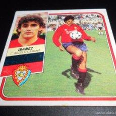Cromos de Fútbol: IBAÑEZ OSASUNA CROMOS ALBUM EDICIONES ESTE LIGA FUTBOL 1989 1990 89 90. Lote 57256095