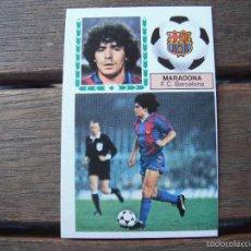 Cromos de Fútbol: CROMO ESTE 83.84. MARADONA (F.C.BARCELONA). NUNCA PEGADO.. Lote 57270631