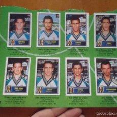 Cromos de Fútbol: RRRO - 16 CROMOS BOLLYCAO FUTBOL TEMPORADA 1997 1998 PEGADOS VER FOTOS MERIDA Y MALLORCA. Lote 57436039