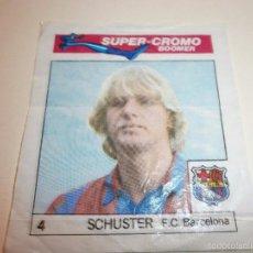 Cromos de Fútbol: SUPER CROMO BOOMER CHICLES BOOMER Nº4. Lote 57473275