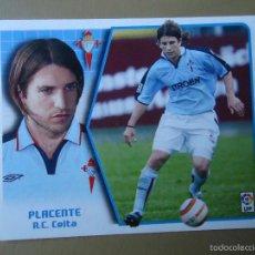 Cromos de Fútbol: LTG ESTE 05 06 2005 2006 PLACENTE CELTA NUNCA PEGADO. Lote 57488740