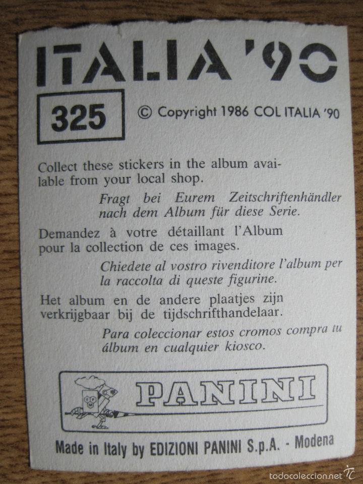 Cromos de Fútbol: CROMO PANINI BRILLANTE ITALIA 90 N 325 ESCUDO BÉLGICA SIN PEGAR BUEN ESTADO 1990 - Foto 2 - 57541522
