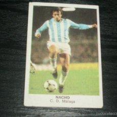 Cromos de Fútbol: -CROMOS CANO FUTBOL 84 : NACHO ( MALAGA ). Lote 57547469
