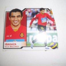 Cromos de Fútbol: CROMOS FUTBOL 2007/08 ESTE IBAGAZA RCD MALLORCA. Lote 57634663