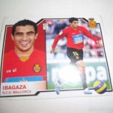 Cromos de Fútbol: CROMOS FUTBOL 2007/08 ESTE IBAGAZA RCD MALLORCA. Lote 57637658