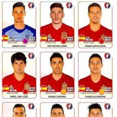Cromos de Fútbol: CROMOS EXTRA EDICION EDITION STICKERS PANINI UEFA EURO CUP FRANCE 2016 EUROCOPA ACTUALIZACION. Lote 57716403
