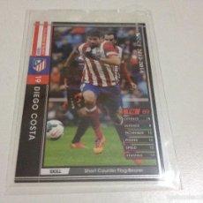 Cromos de Fútbol: CROMO CARD WCCF LIGA 2013-14 PANINI DE JAPÓN AT MADRID DIEGO COSTA TENGO MÁS MIRA MIS LOTES . Lote 57717280
