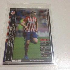 Cromos de Fútbol: CROMO CARD WCCF LIGA 2015-16 PANINI DE JAPÓN AT MADRID FERNANDO TORRES TENGO MÁS MIRA MIS LOTES . Lote 57717345
