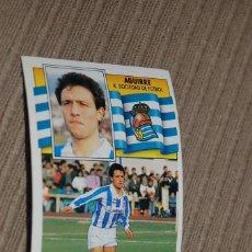 Football Stickers - CROMO SIN PEGAR ALBUM LIGA ESTE 90 91 1990 1991 REAL SOCIEDAD AGUIRRE - 57742600