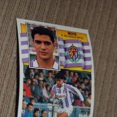 Cromos de Fútbol: CROMO SIN PEGAR ALBUM LIGA ESTE 90 91 1990 1991 VALLADOLID MOYA. Lote 57743042