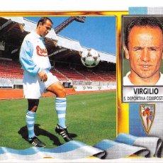 Figurine di Calcio: EDICIONES ESTE 95/96 1995/1996 - COLOCA VIRGILIO (S.D. COMPOSTELA) NUNCA PEGADO. Lote 57797246