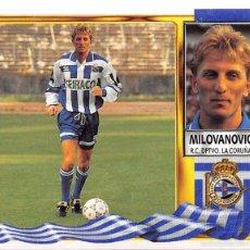 Figurine di Calcio: EDICIONES ESTE 95/96 1995/1996 - COLOCA MILOVANOVIC (DEPORTIVO DE LA CORUÑA) NUNCA PEGADO. Lote 57797257
