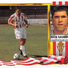 Figurine di Calcio: EDICIONES ESTE 95/96 1995/1996 - COLOCA RAFA NAVARRO (SPORTING DE GIJON) NUNCA PEGADO. Lote 57802420