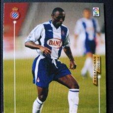 Cromos de Fútbol: 67 DOMORAUD - R.C.D. ESPANYOL - MEGAFICHAS 2003 2004 03 04 - PANINI - VERSION JAPONESA. Lote 57837608