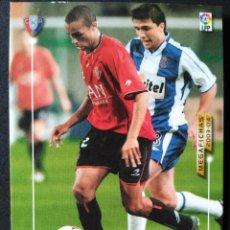 Cromos de Fútbol: 104 VALDO - CLUB ATLETICO OSASUNA - MEGAFICHAS 2003 2004 03 04 - PANINI - VERSION JAPONESA. Lote 57838410