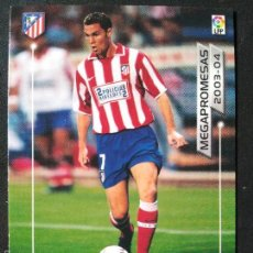 Cromos de Fútbol: MP12 NANO - ATLETICO DE MADRID - MEGAPROMESAS - MEGAFICHAS 2003 2004 03 04 - PANINI VERSION JAPONESA. Lote 57892709