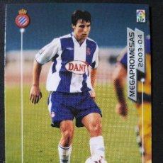Cromos de Fútbol: MP3 MARC BERTRAN - ESPANYOL - MEGAPROMESAS - MEGAFICHAS 2003 2004 03 04 - PANINI - VERSION JAPONESA. Lote 57893058