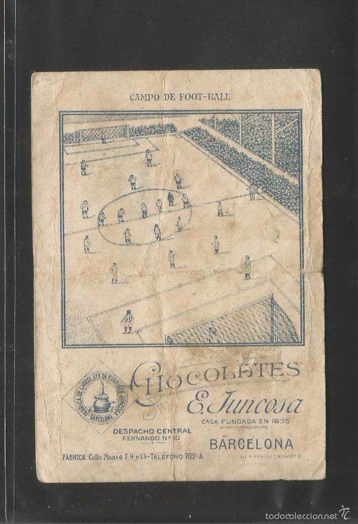 Cromos de Fútbol: FUTBOL- REAL SPORTING GIJON - MEANA - ALINEACION - CHOCOLATE JUNCOSA -(V-6332) - Foto 2 - 57954922