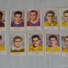 Cromos de Fútbol: LOTE 10 CROMOS VARIADOS - RUIZ ROMERO - 1957 / 1958 - 57 / 58 - BUEN ESTADO (LOTE02) . Lote 57988718
