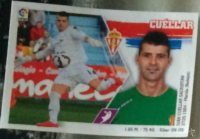 Ediciones Este. Liga 2015-16. Futbolero Nº 3: Cuéllar, Real Sporting., usado segunda mano