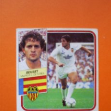Cromos de Fútbol: BAJA - REVERT - VALENCIA - ESTE - 1989 - 1990 - 89 90 - NUNCA PEGADO. Lote 58009861