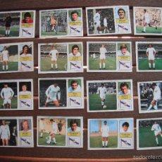 Cromos de Fútbol: LOTE 16 CROMOS FHER 73.74. REAL MADRID -EQUIPO COMPLETO-. DESPEGADOS.. Lote 91470722