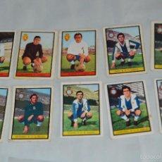 Cromos de Fútbol: LOTE 10 CROMOS - R. ZARAGOZA Y R.C.D ESPAÑOL - FHER - CAMPEONATO DE LIGA 72 / 73 - LOTE03. Lote 58112854