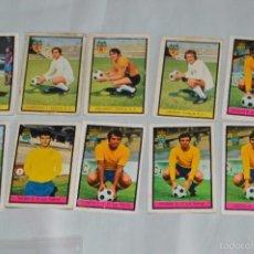 Cromos de Fútbol: LOTE 10 CROMOS - U.D LAS PALMAS, BARCELONA Y VALENCIA - FHER - CAMPEONATO DE LIGA 72 / 73 - LOTE09. Lote 58113192