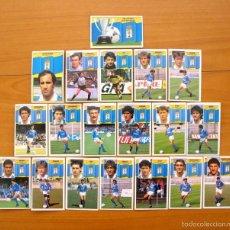 Cromos de Fútbol: OVIEDO - ESTE 1990-1991, 90-91 - EQUIPO COMPLETO, 19 CROMOS, NUNCA PEGADOS. Lote 58114132