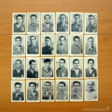 Cromos de Fútbol: OVIEDO - EDITORIAL RUIZ ROMERO 1952-1953, 52-53 - 24 CROMOS NUNCA PEGADOS. Lote 58123472