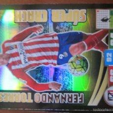 Cromos de Fútbol: SUPER CRACK FERNANDO TORRES DEL AT.MADRID. ADRENALYN 2015-2016 PANINI. Lote 58127900