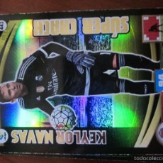 Cromos de Fútbol: SUPER CRACK KEYLOR NAVAS DEL REAL MADRID ADRENALYN 2015-2016 PANINI. Lote 58128185