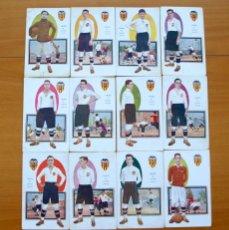 Cromos de Fútbol: VALENCIA. - CHOCOLATES AMATLLER 1922 - 12 CROMOS - COMPLETO - VER FOTOS ADICIONALES. Lote 58145799