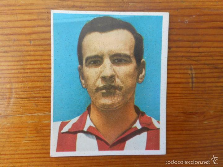 AGUIRRE. AT. BILBAO. CROMO 39 CAMPEONES LIGA 1968-1969, EDITORIAL BRUGUERA. NUEVO, NUNCA PEGADO (Coleccionismo Deportivo - Álbumes y Cromos de Deportes - Cromos de Fútbol)