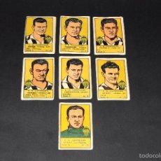 Cromos de Fútbol: LOTE 8 CROMOS FUTBOLISTAS CASTELLON. ALBUM CULTURA. BRUGUERA . AÑOS 40S. NUNCA PEGADOS. Lote 58287401