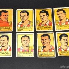 Cromos de Fútbol: LOTE 8 CROMOS FUTBOLISTAS GRANADA CF. ALBUM CULTURA. BRUGUERA . AÑOS 40S. NUNCA PEGADOS. Lote 58287645