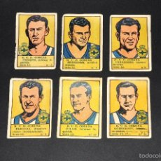 Cromos de Fútbol: LOTE 6 CROMOS FUTBOLISTAS RCD CORUÑA. ALBUM CULTURA. BRUGUERA . AÑOS 40S. NUNCA PEGADOS. Lote 58288333