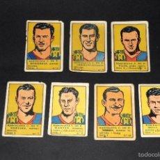 Cromos de Fútbol: LOTE 7 CROMOS FUTBOLISTAS BARCELONA CF. ALBUM CULTURA. BRUGUERA . AÑOS 40S. NUNCA PEGADOS. Lote 58288379