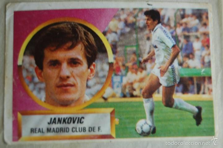CROMO ALBUM ESTE 88 89 1988 1989 REAL MADRID JANKOVIC BAJA (Coleccionismo Deportivo - Álbumes y Cromos de Deportes - Cromos de Fútbol)